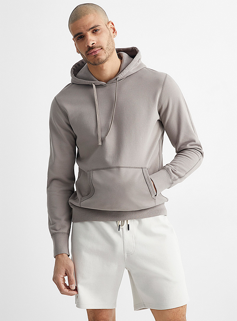Reigning Champ Light Brown Minimalist hoodie for men
