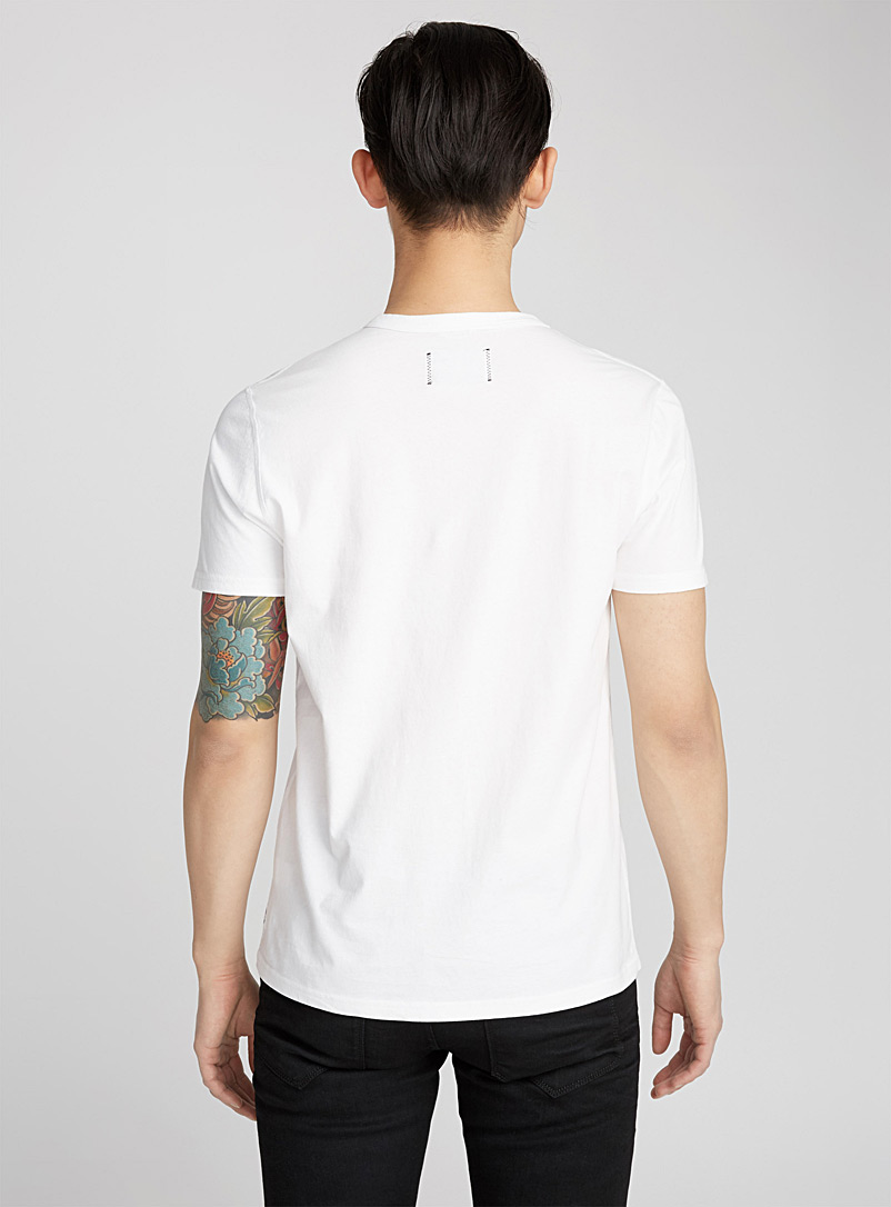Reigning Champ Black Monochrome T-shirt for men