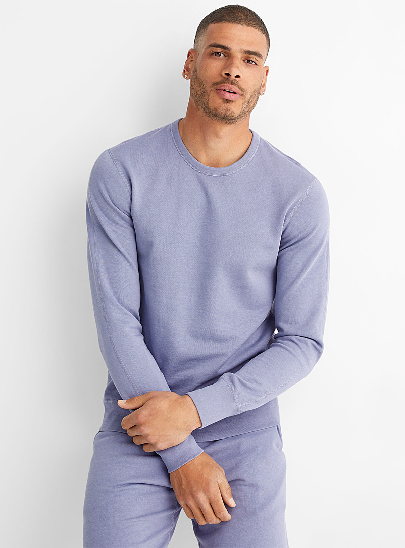 Reigning Champ Lilacs Lilac lightweight sweatshirt for men