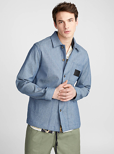 Chambray worker jacket
