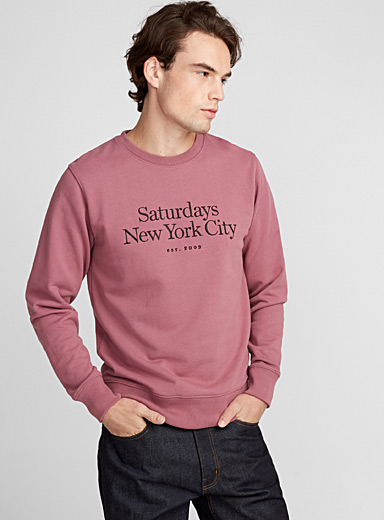 Le sweat Bowery Miller vieux rose