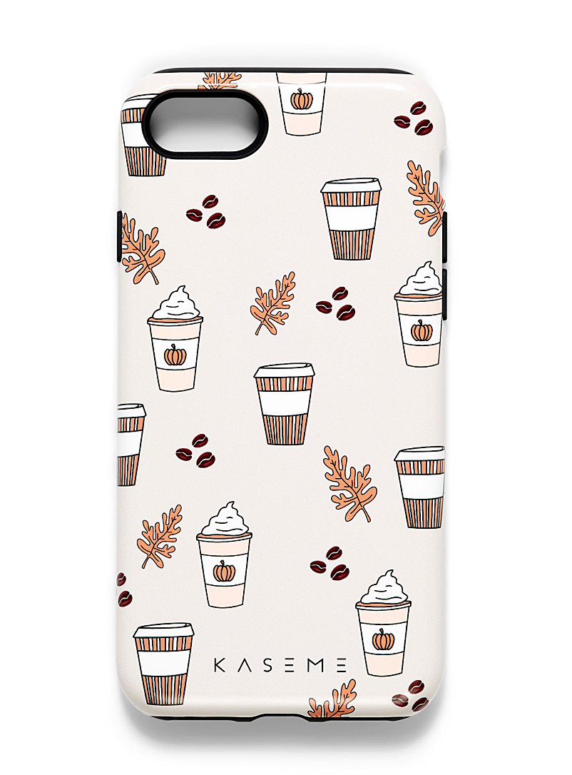 KaseMe Ivory White Whimsical iPhone 7/8 case for women