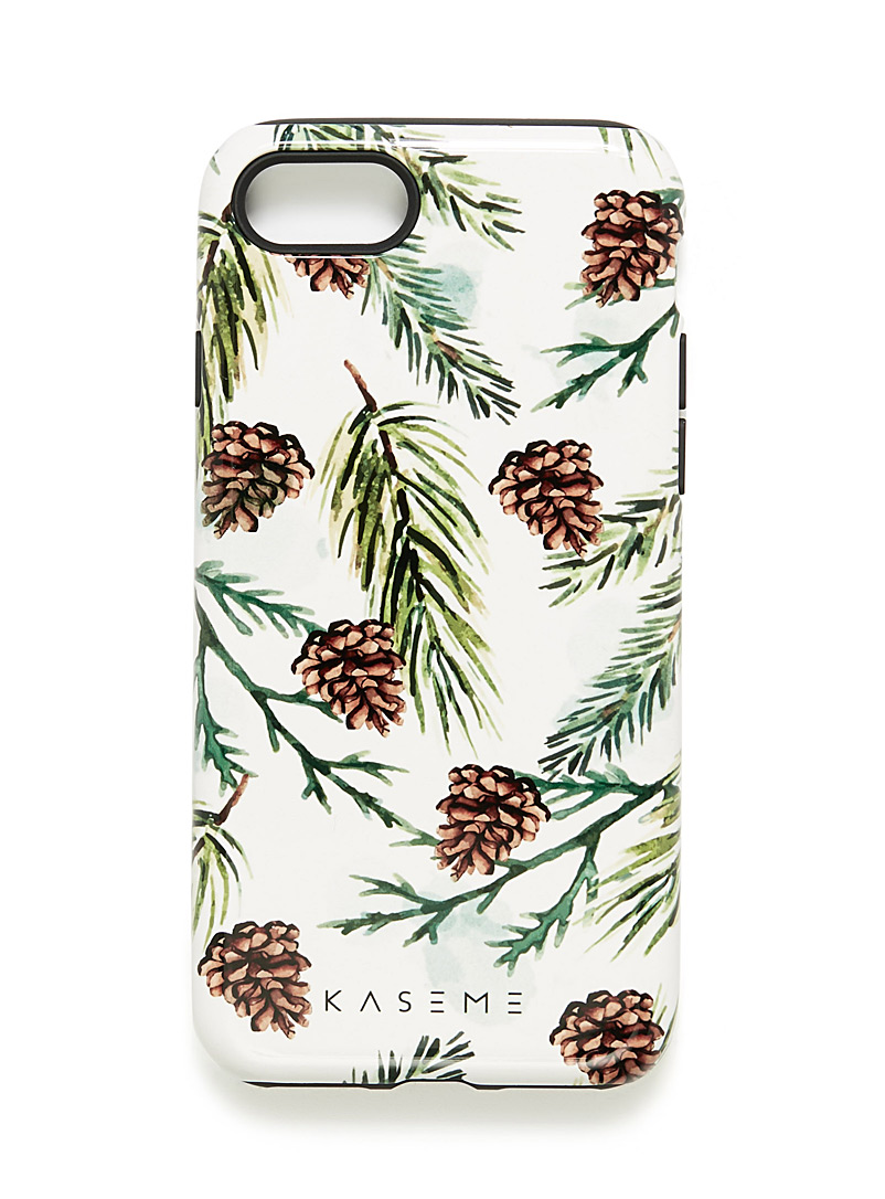Whimsical iPhone 7/8 case - Assorted Extras - Black and White