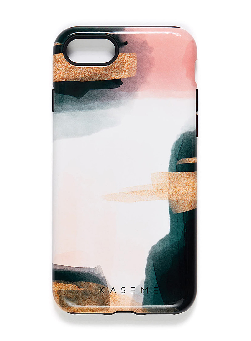 Playful iPhone 7/8 case - Assorted Extras - Patterned White