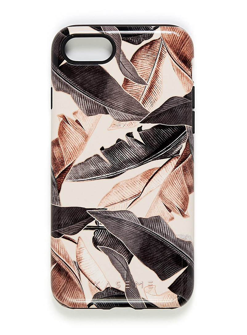 Whimsical iPhone 7/8 case - Assorted Extras - Amber Bronze