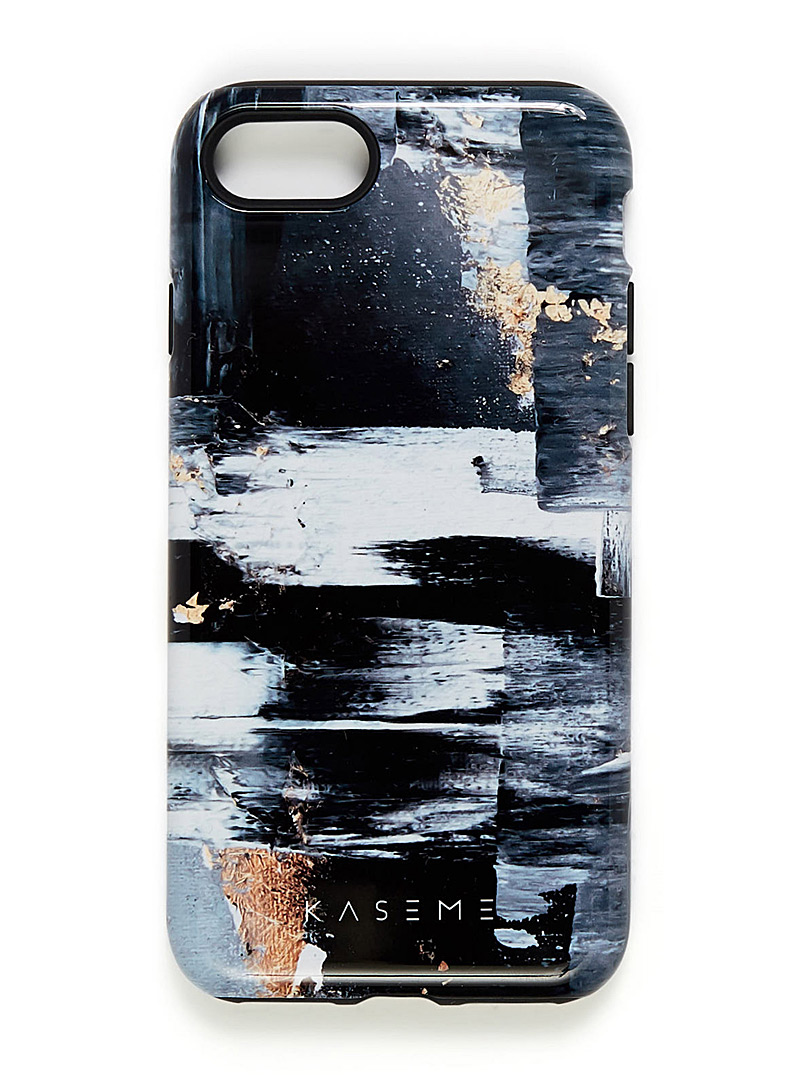 Whimsical iPhone 7/8 case - Assorted Extras - Charcoal