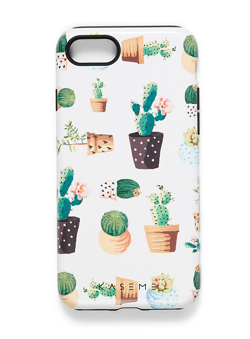 Whimsical iPhone 7/8 case - Assorted Extras - Bottle Green