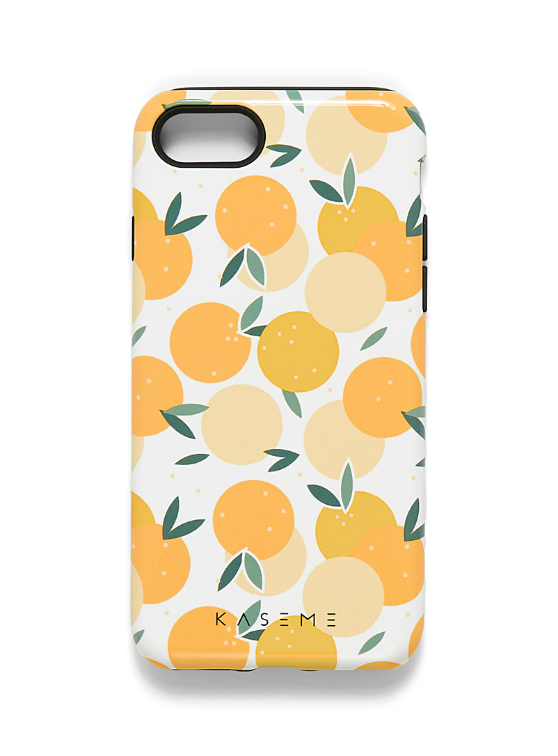 KaseMe Assorted yellow  Whimsical iPhone 7/8 case for women