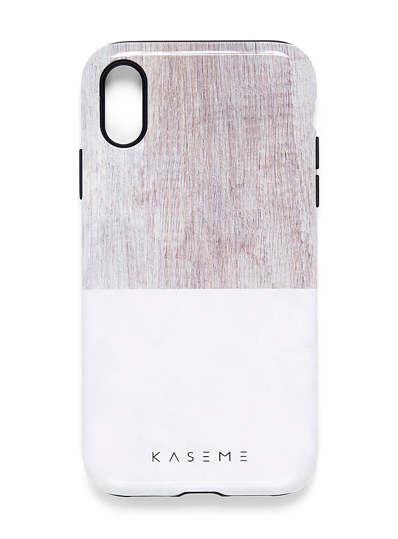 Modern iPhone XR case - Phone cases - Ivory White