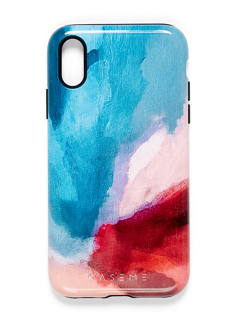 Modern iPhone XR case - Phone cases - Teal