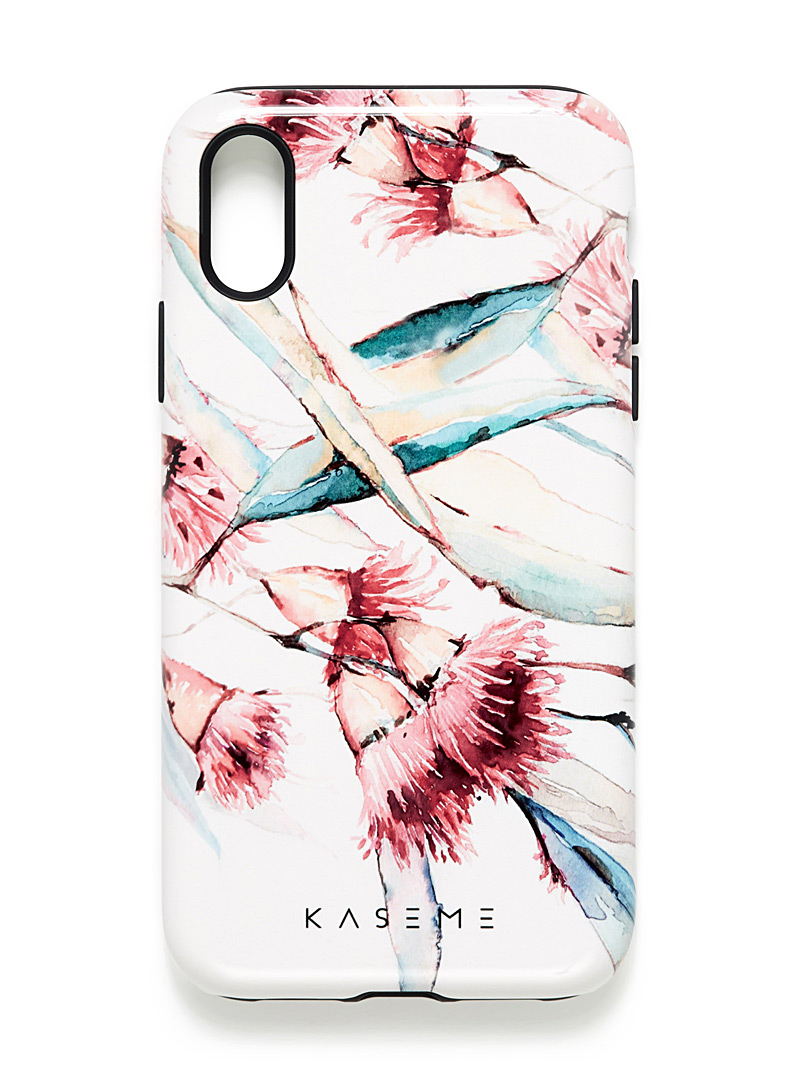 KaseMe Peach Modern iPhone XR case for women