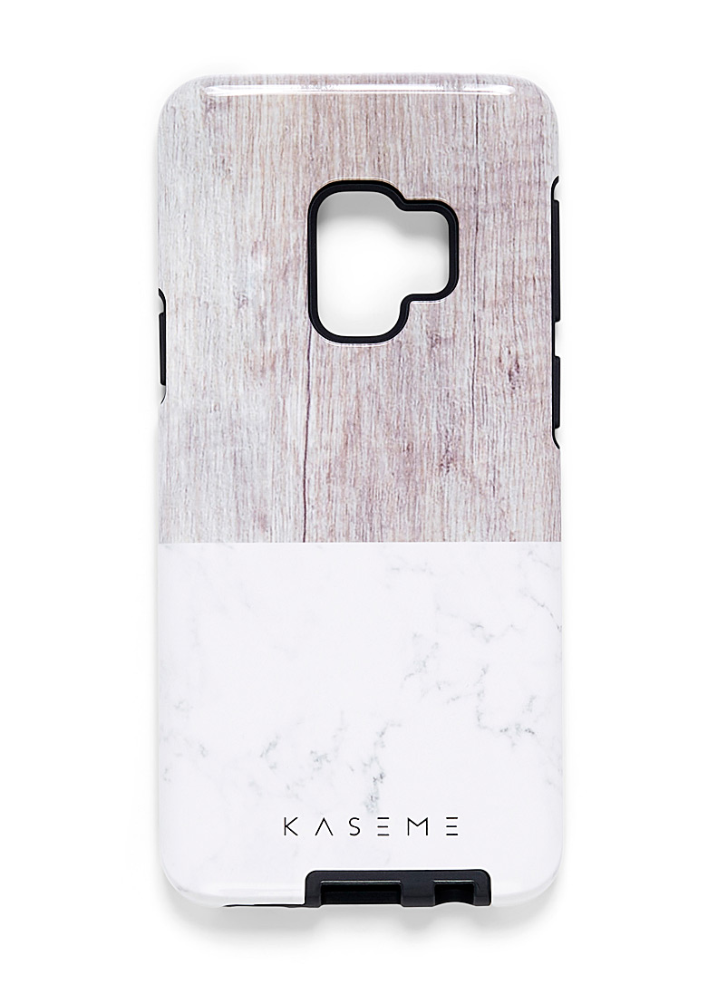 KaseMe Ivory White Samsung Galaxy S9 case for women