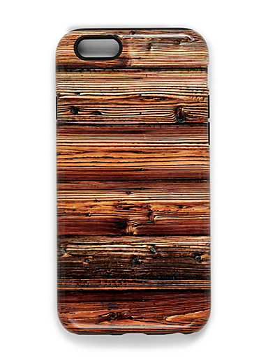 Round Wood iPhone 6/6S case