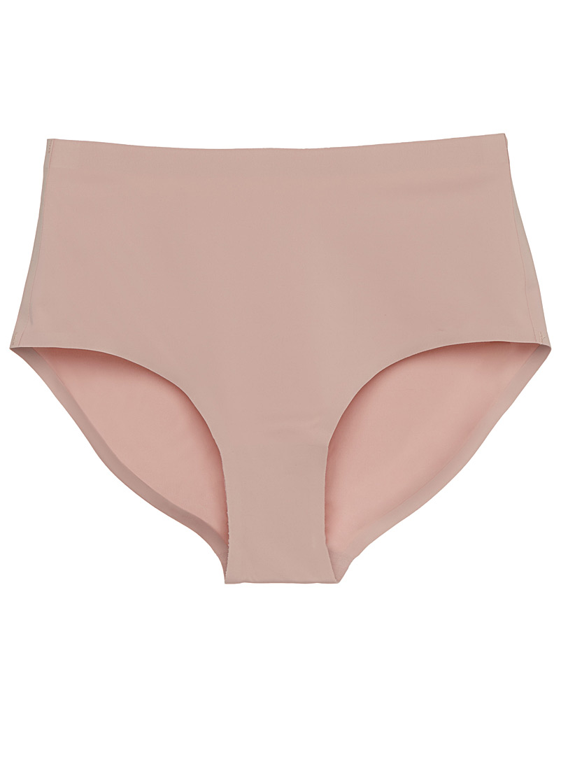 Miiyu Pink Laser-cut high-rise panty for women
