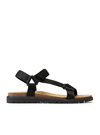Simons Black Cesare sandals  Men for men