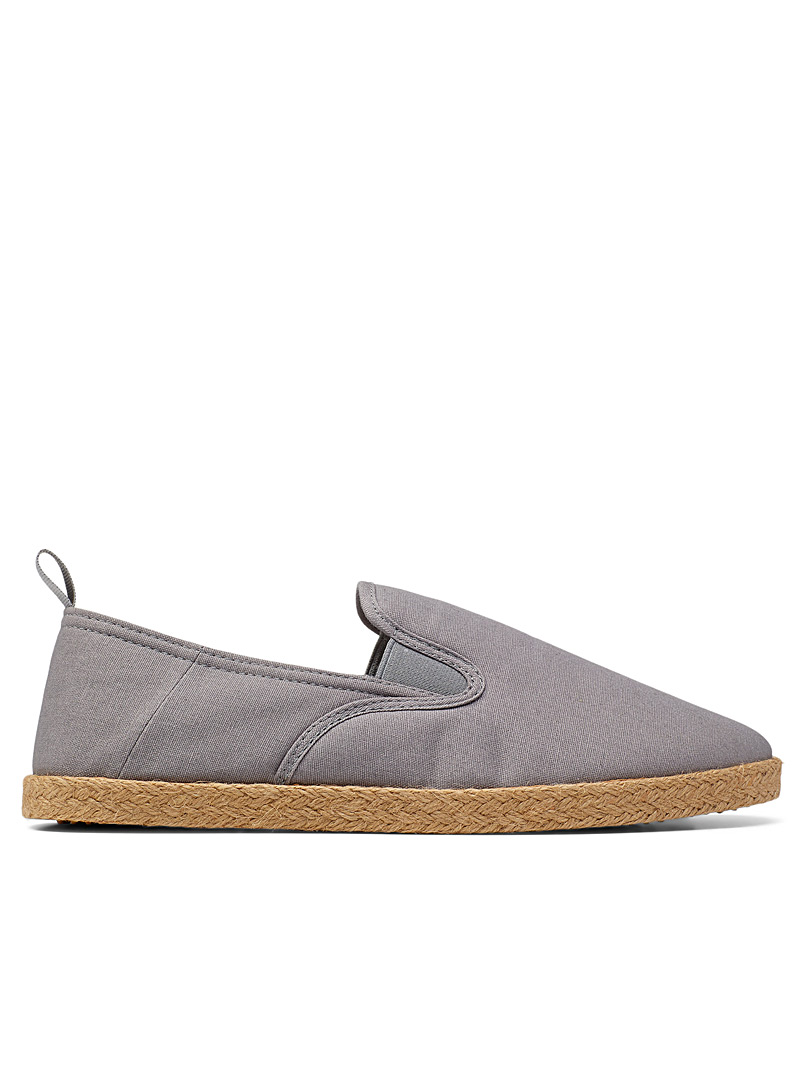 Simons Grey Espadrilles Men for men