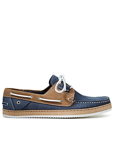 Nubuck boat shoes <br>Men