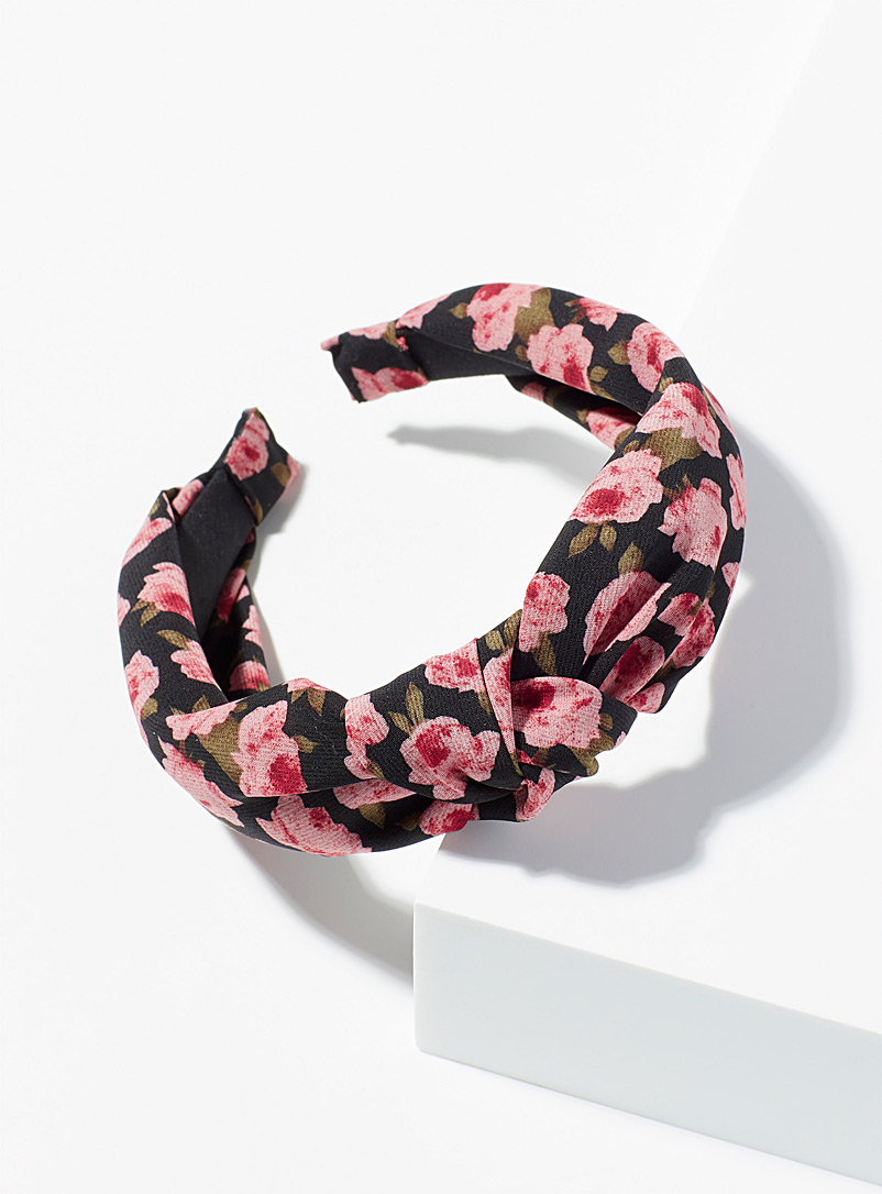 Simons Assorted pink  Multi-coloured floral headband for women