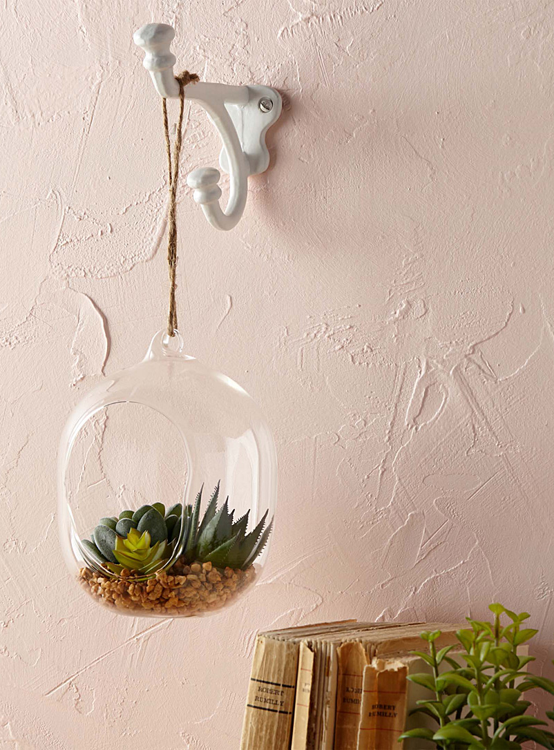 Hanging glass terrarium - Stylish Objects & Decor Accents - Assorted