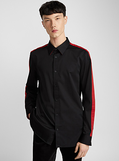 Neo-athletic shirt <br>Semi-tailored fit