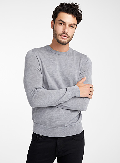 CK pure merino wool sweater