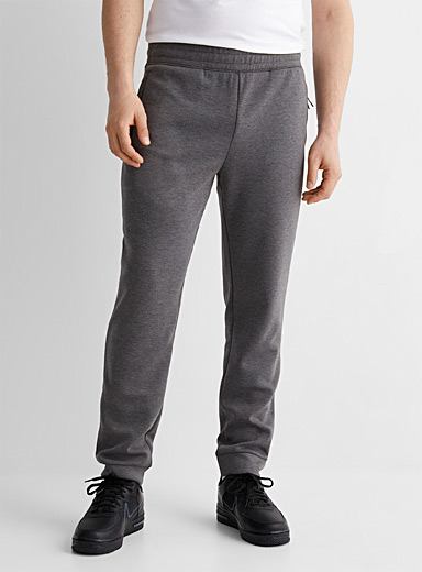 Le jogger sweat chiné