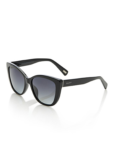 Ruby cat-eye sunglasses
