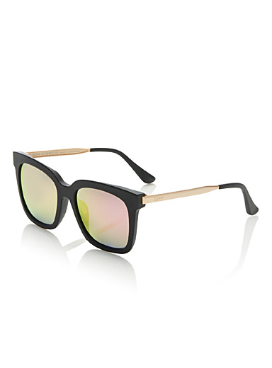 Bella retro square sunglasses