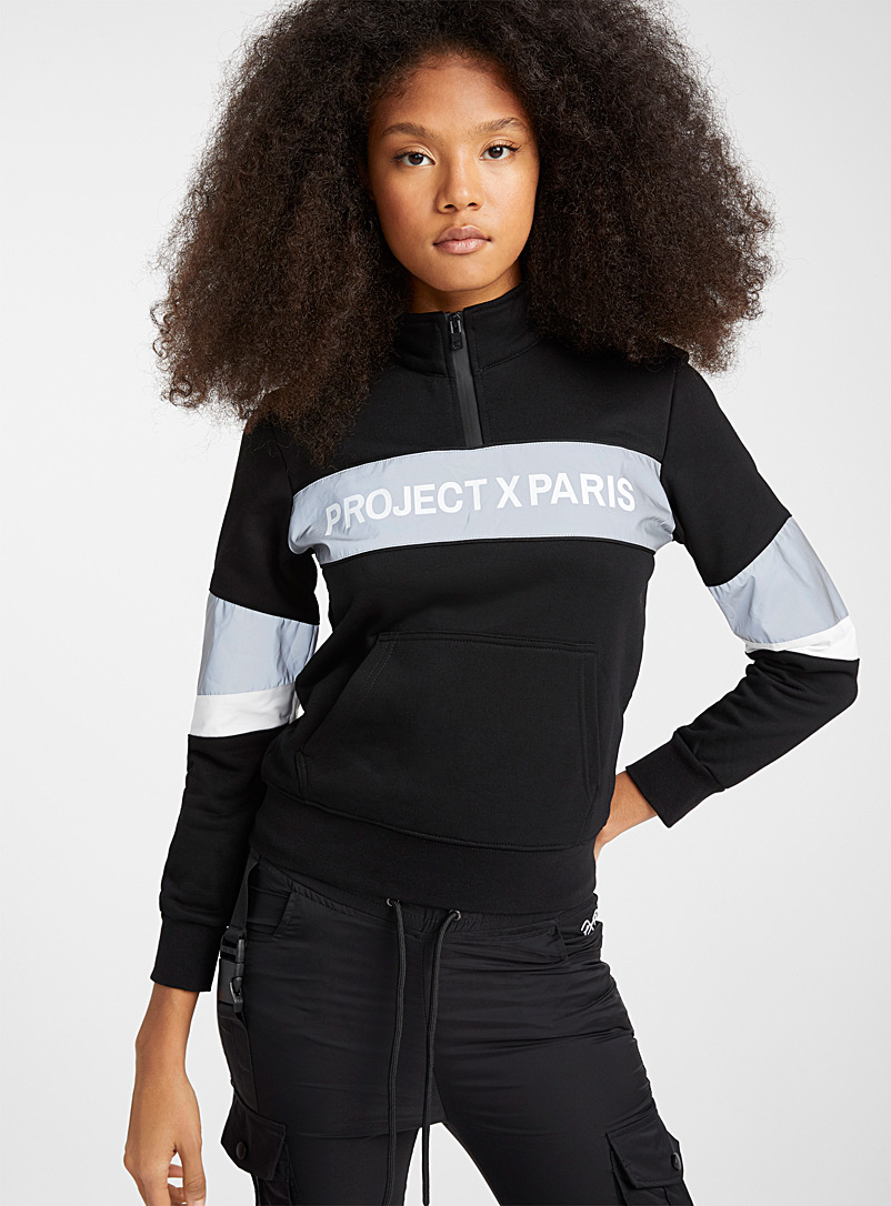le-sweat-demi-zip-bandes-reflechissantes