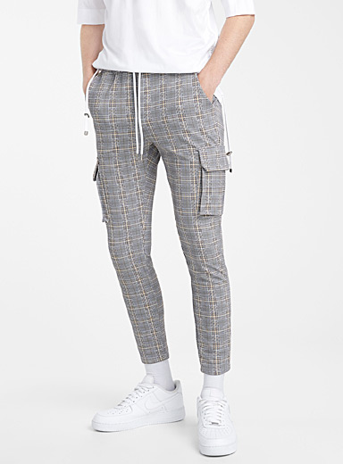 Prince of Wales cargo pant