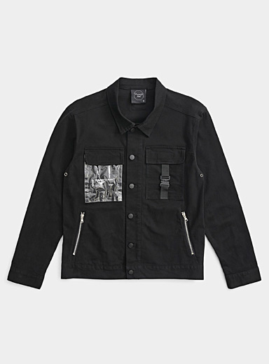 Tactical denim jacket