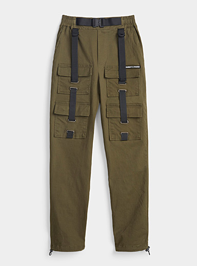 Project X Paris Khaki Khaki utility pant for women