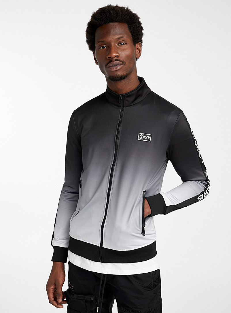 Project X Paris Black Ombré track jacket for men