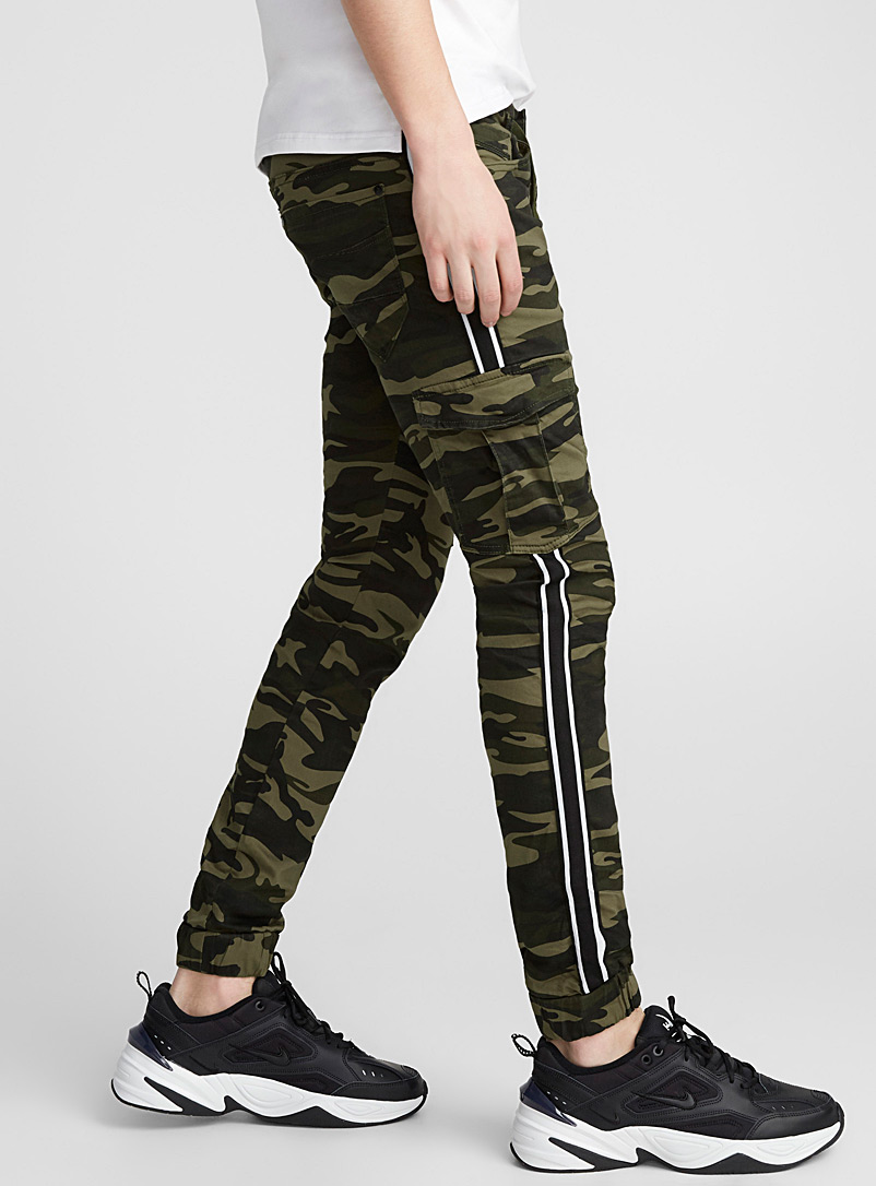 Neo-camo joggers - Joggers - Patterned Green