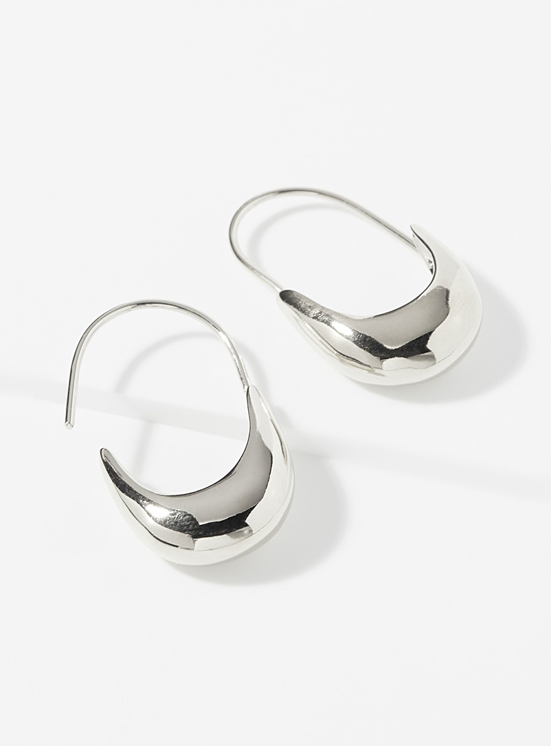 Wolf Circus Silver Marta hoops for women