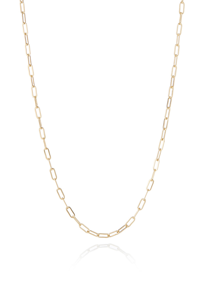 Maggie gold necklace - Necklaces - Assorted