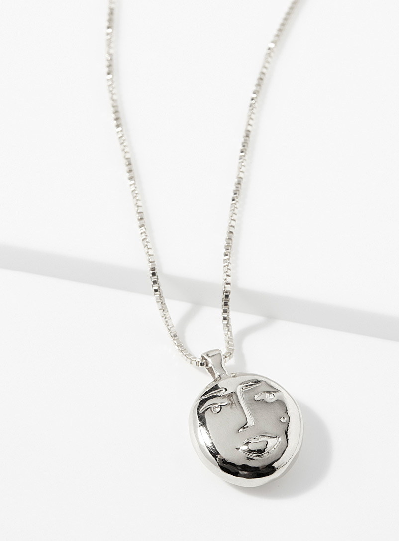 Evelyn necklace - Necklaces - Silver