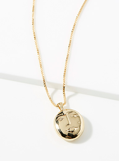 Wolf Circus Gold Evelyn necklace for women