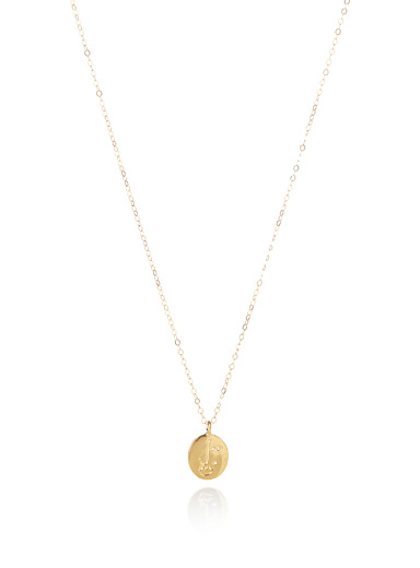 Golden Matisse necklace