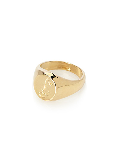 Golden Matisse ring