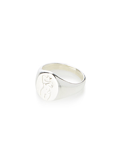 Femme silver ring