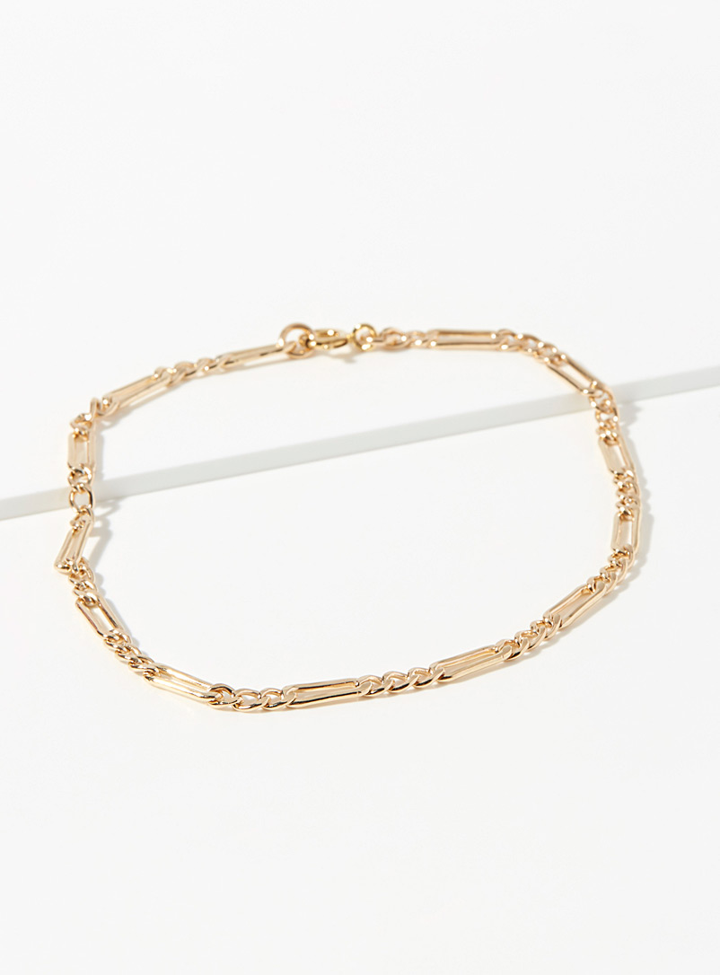 Wolf Circus Assorted Mila gold anklet for women