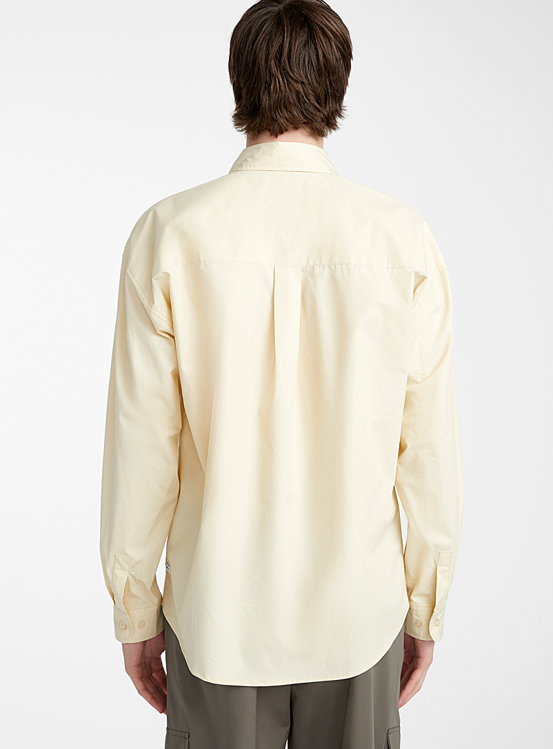 Boxy shirt - Solid - Ivory White