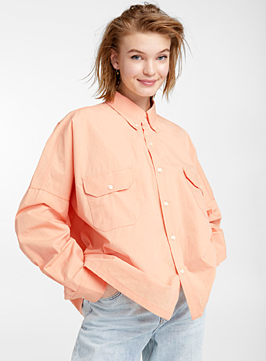 Fresh orange shirt