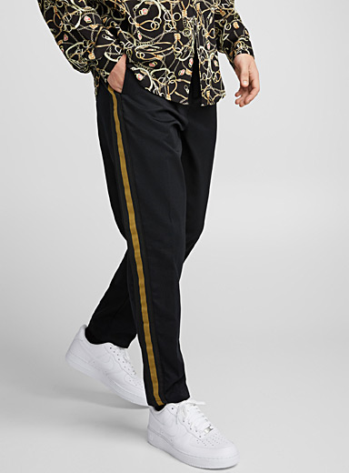 Golden-trim pant <br>Reykjavik fit-Anti-fit