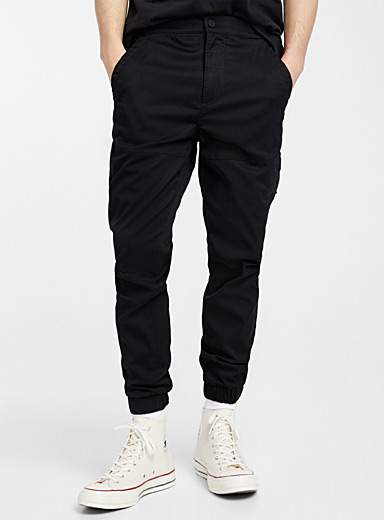 Organic cotton ergonomic joggers