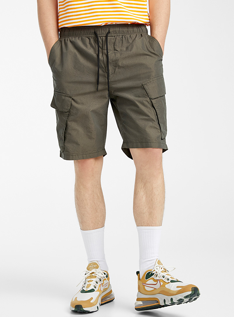 Djab Khaki Tactical cargo shorts for men