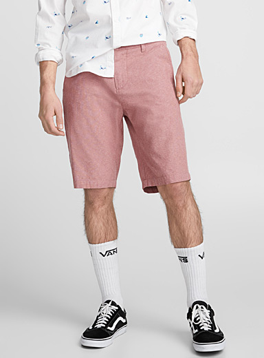 Oxford chino organic cotton Bermudas