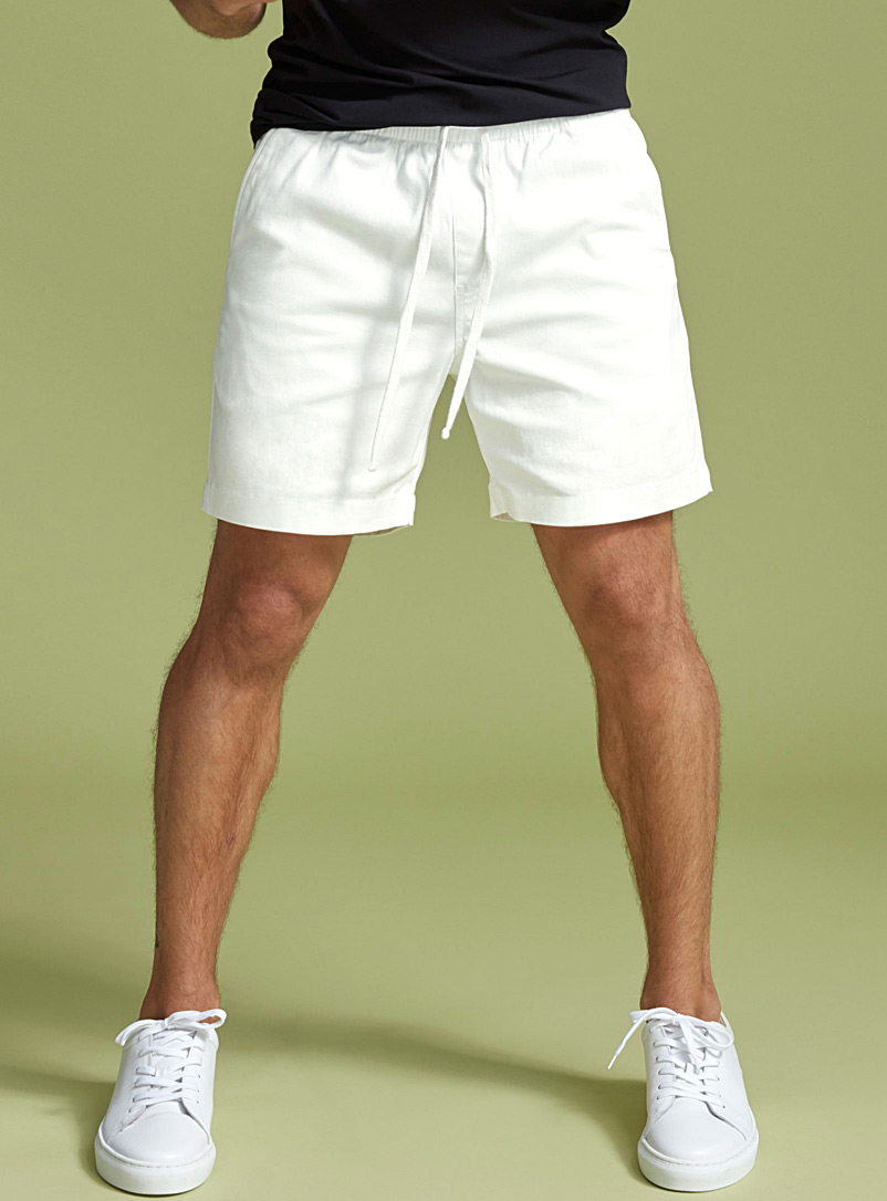 Bright white short - Shorts - White