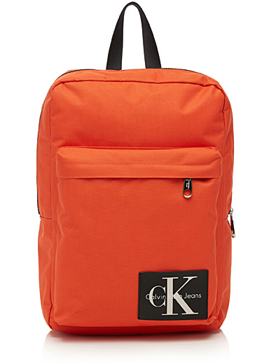 Rectangular signature backpack